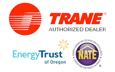HVAC Certifications - NATE Certified - Energy Trust of Oregon - Trane Authorized Dealer in Portland OR and Gresham OR